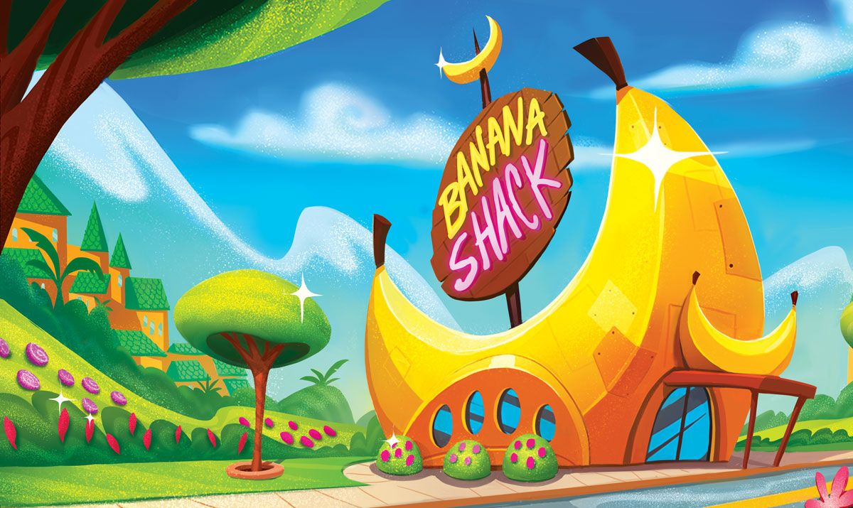Fingerlings Animated Series Banana Shack