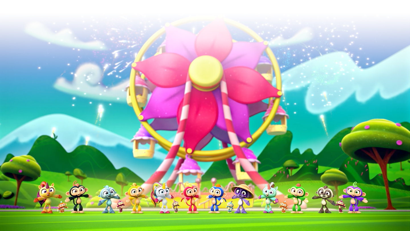 Fingerlings Animated Series Ferris Wheel