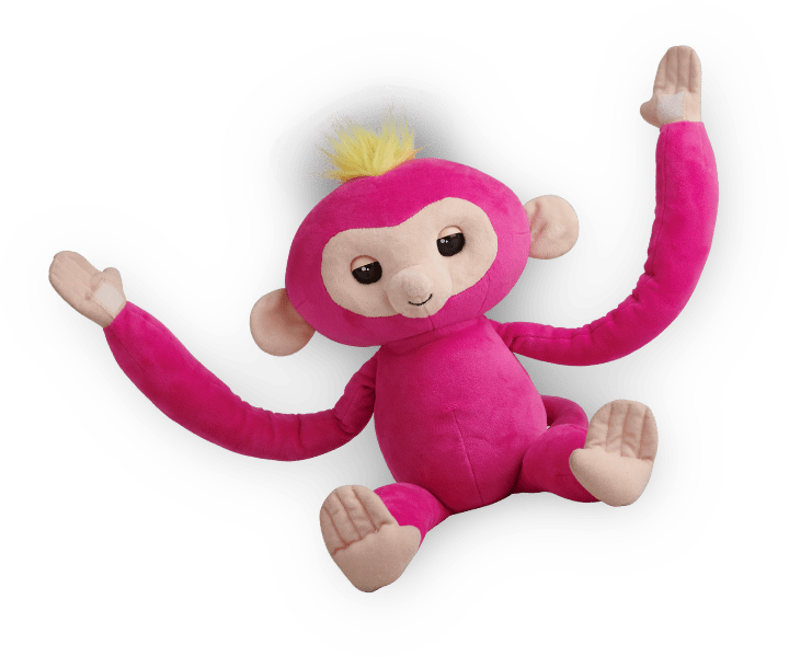 Fingerlings Hugs Friends