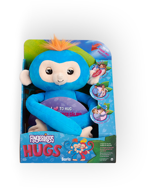 Fingerlings Hugs Boris